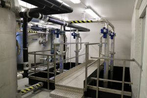Natwat vedenpuhdistamo Mäntsälä Natwat water treatment plant